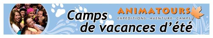 camp de vacances  classe nature  voyages culturels qu u00e9bec
